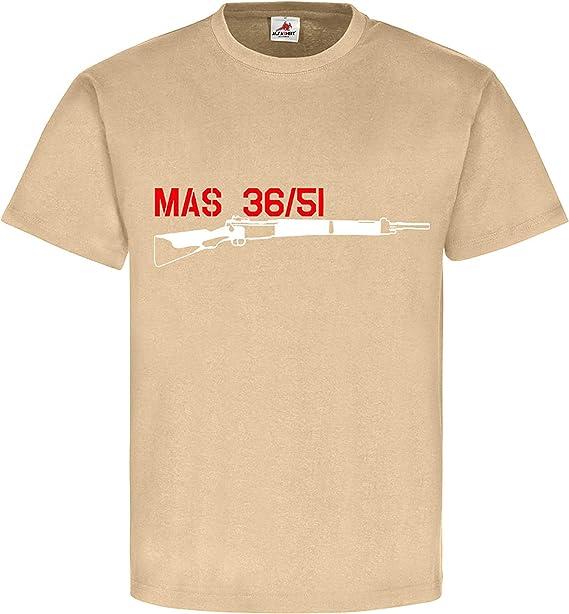 MAS 36 51 Rifle Francia Camisa Francés Militar Deko ...
