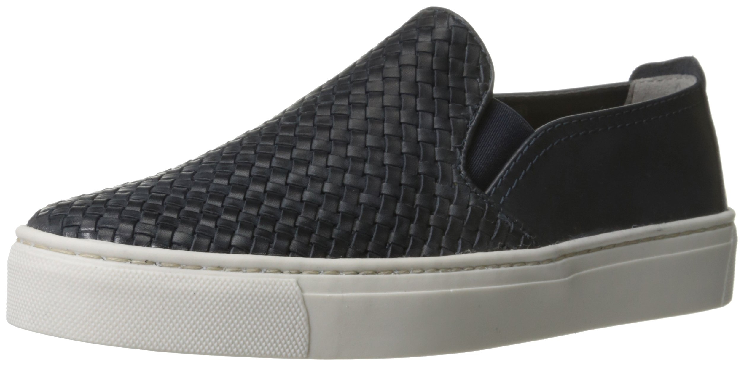 The Flexx Women's Sneak Name Fashion Sneaker, Navy Elba Intreccio, 9 M US