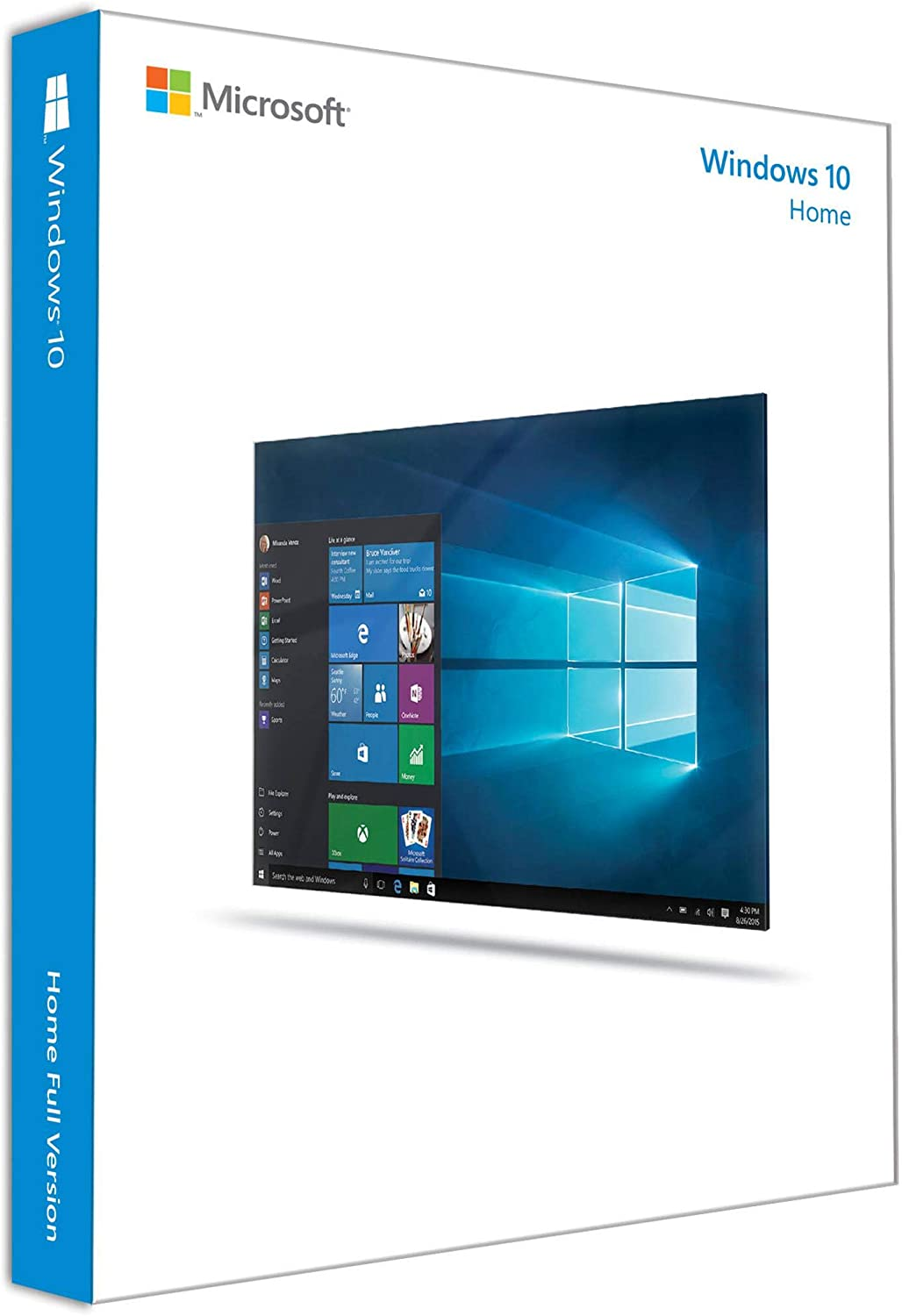 Microsoft KW9-00265 Windows 10 Home - License - 1 license - download - 32/64-bit, ESD - All Languages