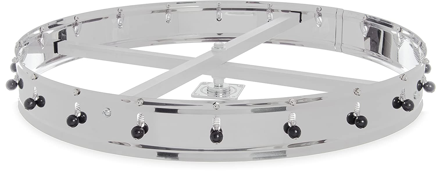 Carlisle 3820CH Stainless Steel Ceiling Mount Order Wheel with 20 Clips, 23