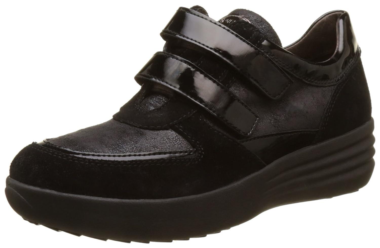 TALLA 36 EU. Stonefly Romy 16 Velour/Pat, Zapatos con Plataforma para Mujer