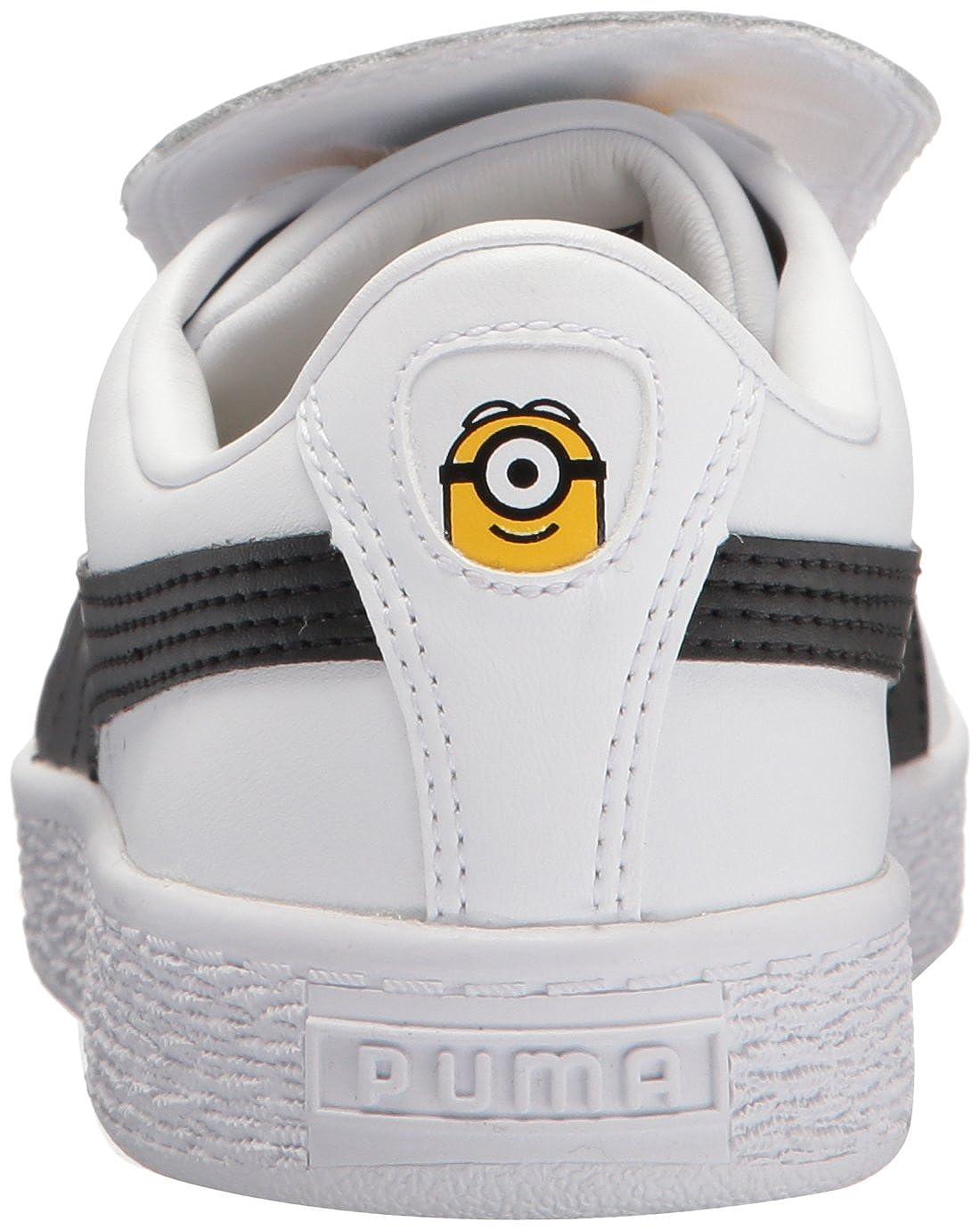 PUMA Minions Basket Tongue Kids Sneaker