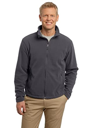e6c479e7 Port Authority Men's Soft Fleece Full Zip Jacket at Amazon Men's Clothing  store: Fleece Outerwear Jackets