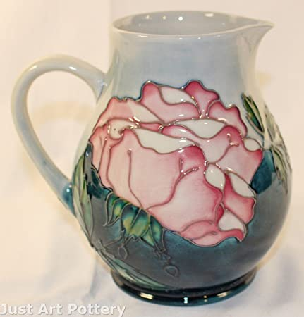 Moorcroft Pottery 1990 Collectors Club Rose Pitcher: Amazon