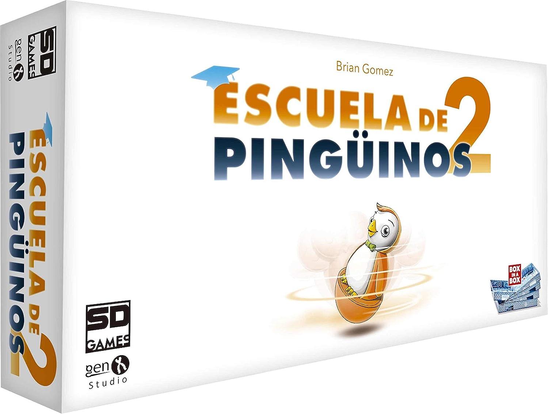 SD Games - Juego Escuela De Pinguinos 2: Amazon.es: Juguetes y juegos