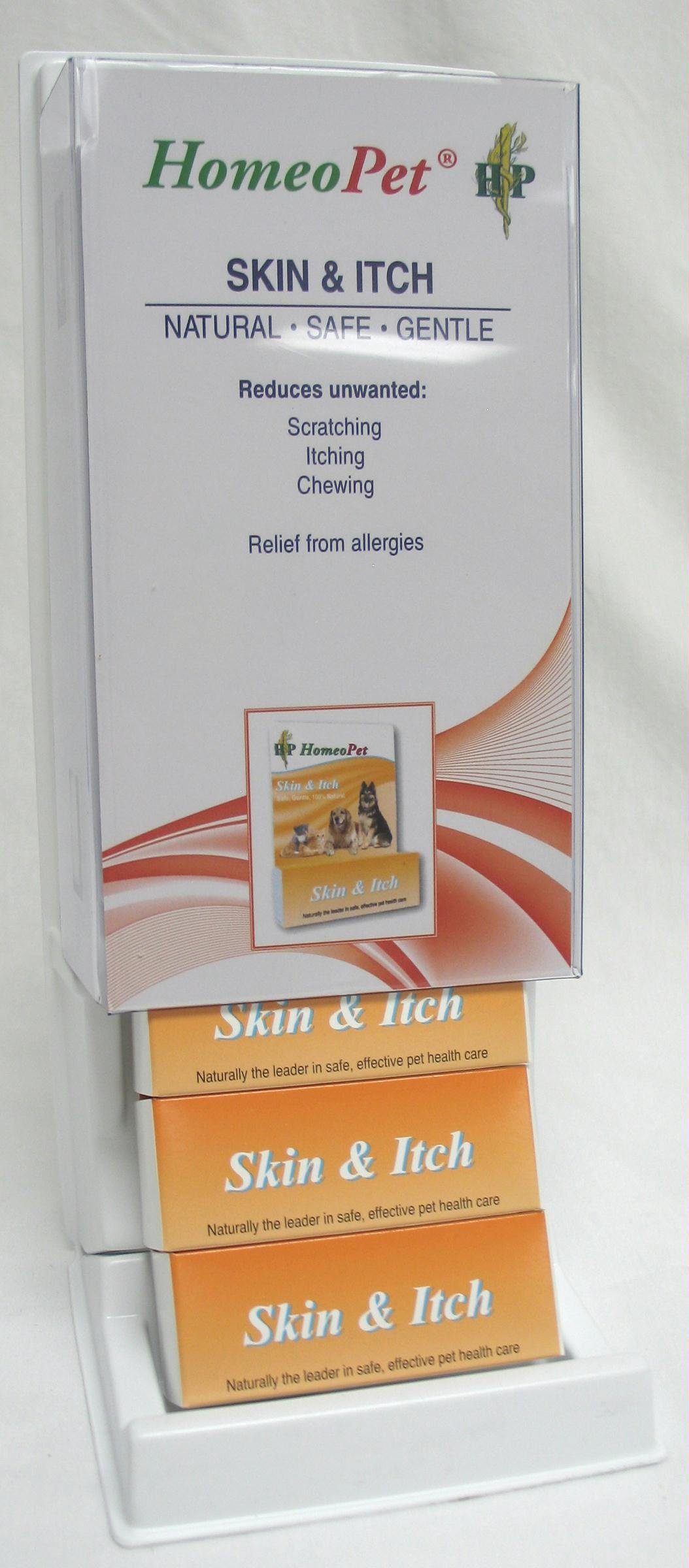 Homeopathic Skin & Itch Relief Display - 04725 - Bci
