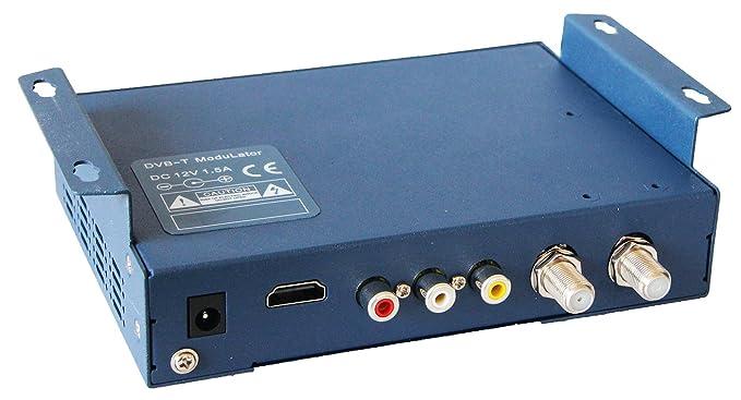 HD-LINE HD6990 modulador Digital DVB-T Pantalla LCD 2,4