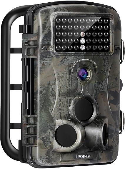 Wildkamera Überwachungskamera FHD 1080P 14MP Jagdkamera Fotofalle IR Nachtsicht