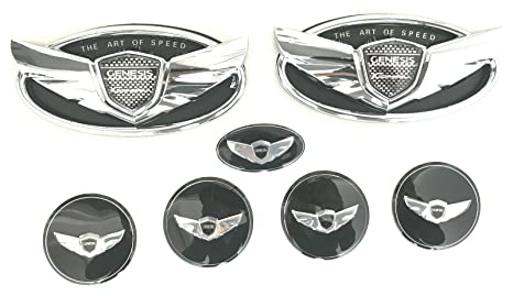 Amazon Exotic Store 7 Pieces 2010 2017 Fit For Hyundai Genesis