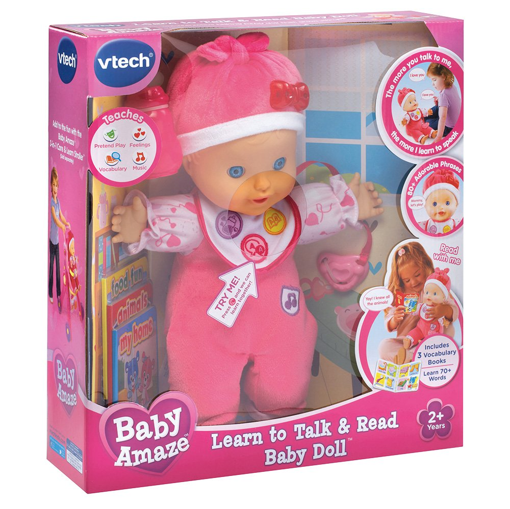 VTech Baby Amaze Learn to Talk and Read Baby Doll by VTech (Image #8)