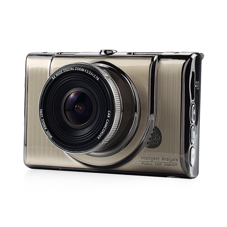 NEXGADGET 3'' Dash Cam Full HD 1080P 170 Degree Wide Angle Dashboard Camera Vehicle Recorder G-Sensor, Motion Detection, Loop Recording, Parking Mode