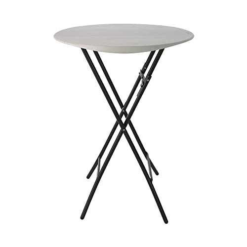 Lifetime Products Round Bistro Table, 33 D x 43 H