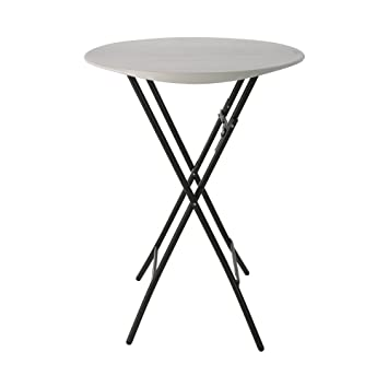 Amazoncom Lifetime Products 33 Round Bistro Table Kitchen Dining
