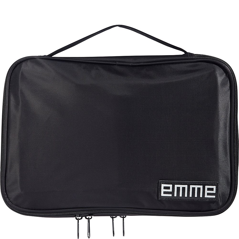 EMME The Original EMME Cosmetic and Toiletry Travel Bag (Black)