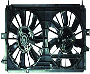 DEPO 335-55001-000 Replacement Engine Cooling Fan Assembly (This product is an aftermarket product. It is not created or sold by the OE car company)