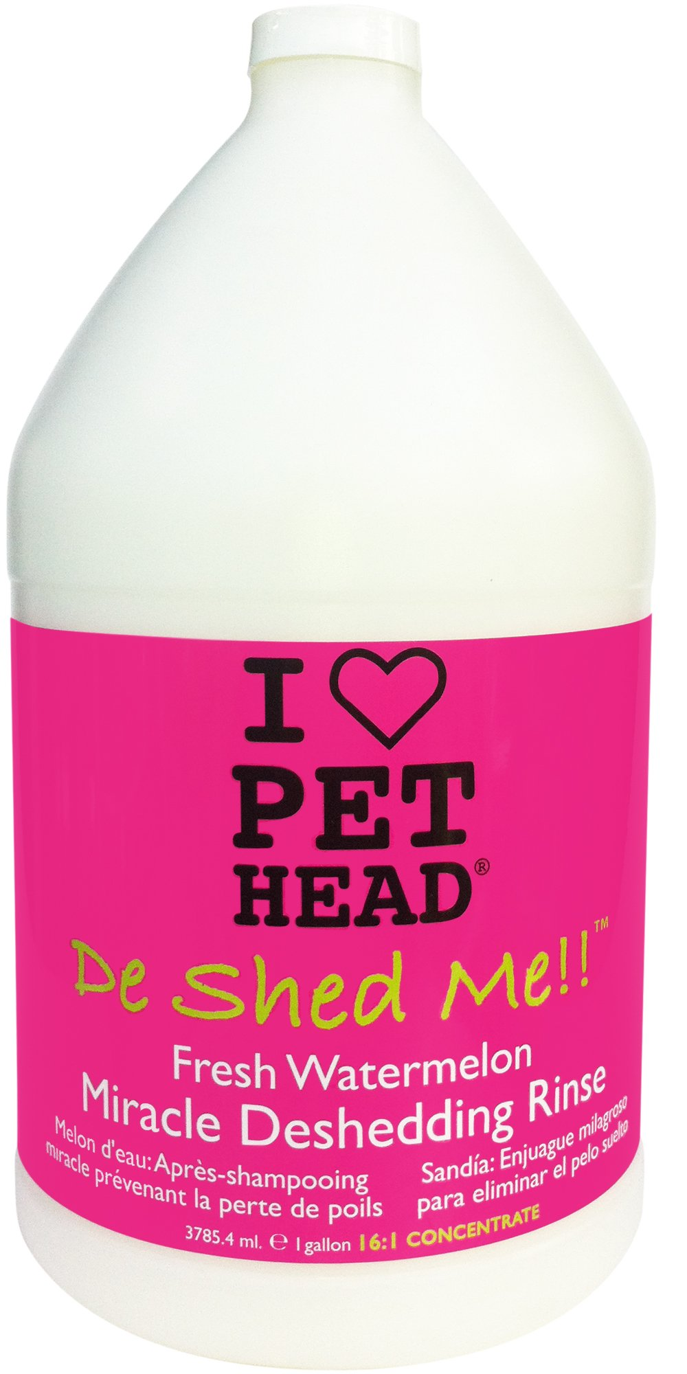 The Company of Animals Pet Head De Shed Me!! Miracle Deshedding Rinse Concentrate