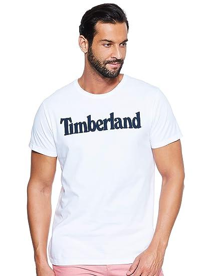 Timberland Herren Ss Kennebec River Brand Regular Tee (Tree & Linear) T Shirt