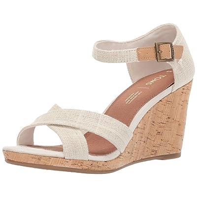 TOMS Women's Sienna Espadrille Wedge Sandal | Platforms & Wedges