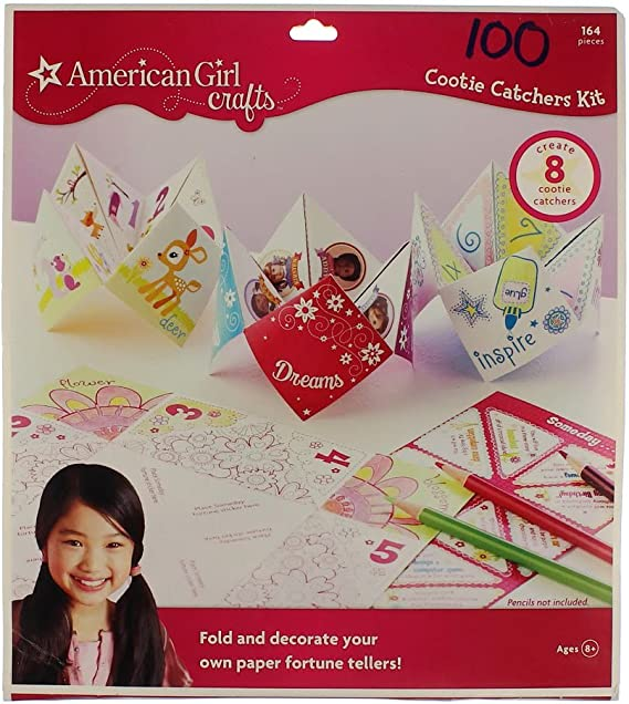 How to Make Paper Fortune Tellers - Inner Child Fun | 636x569