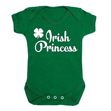 38604848a Irish Princess Baby Vest - Green Ireland St Patricks Day Babygrow ...