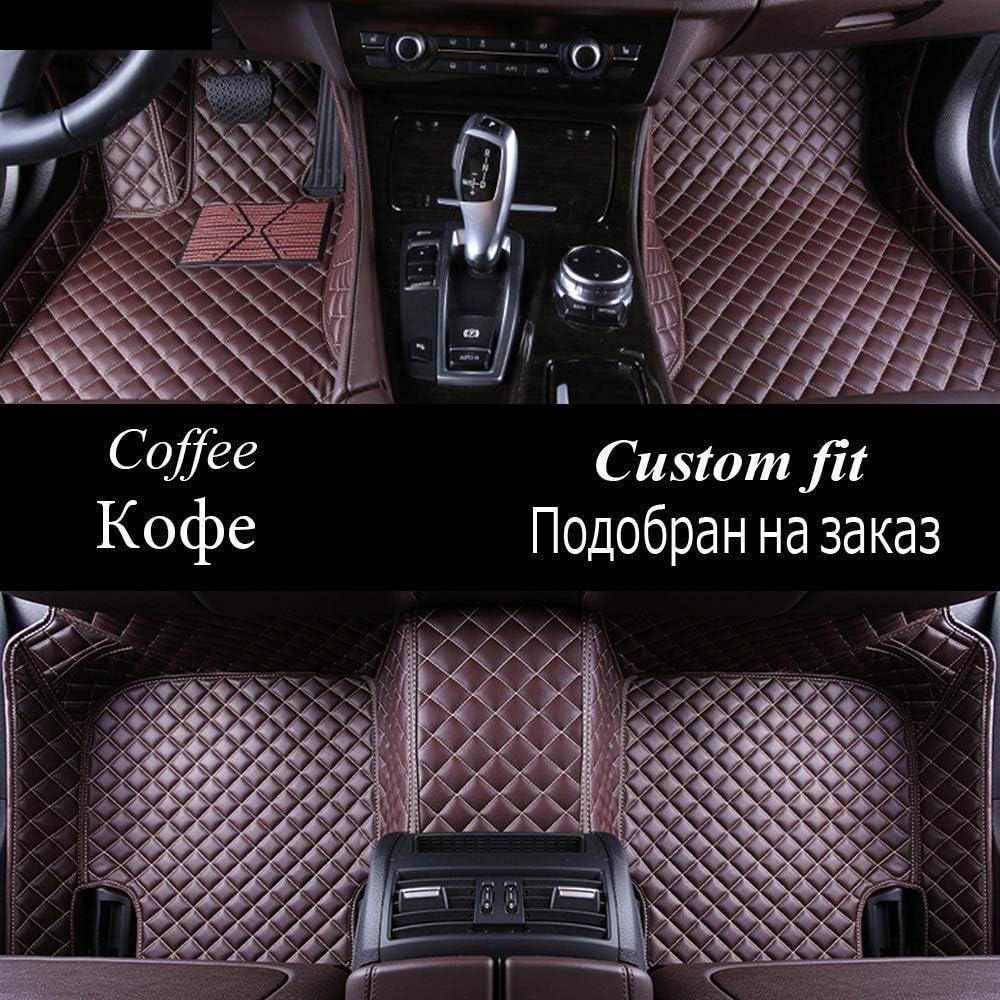 Negro QIONGS Personalizadas Alfombras de Coche Piso,para G350 G500 G55 G63 AMG W164 W166 M ML GLE X164 X166 GL GLS 320 350 400 420 450 500 550 Alfombra