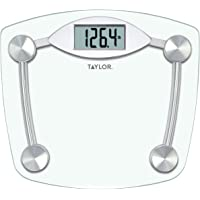 Taylor Precision Products Glass and Chrome Digital Scale