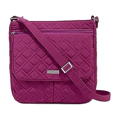 Image Unavailable. Image not available for. Color  Vera Bradley Double Zip  Mailbag Crossover Handbag ... afe4f14af5