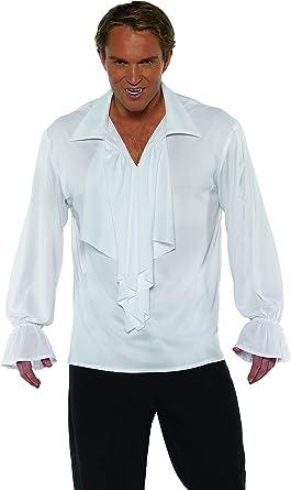 Underwraps - Disfraz de Vampiro Rockstar Pirata para Hombre, Color Blanco, Extra Grande: Amazon.es: Ropa y accesorios