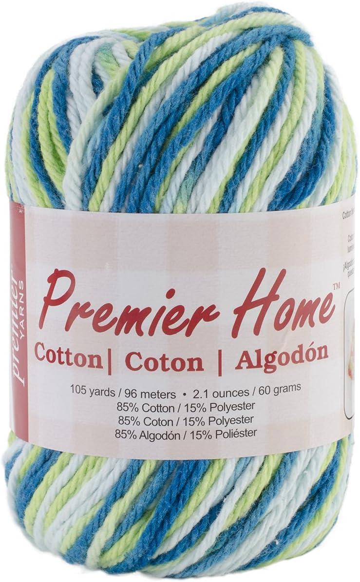 Premier Yarns 44-02 Yarn Home Cotton Poolside