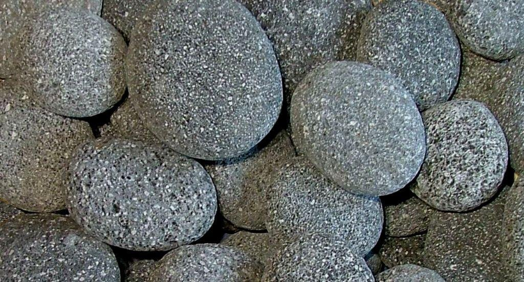 BLACK LAVA BEACH PEBBLES - 2 to 4 Inches - 35 Pounds - Natural Rocks for Fire Pits and to Accent Indoor and Outdoor Gardens, Ponds, Fountains, Arts and Crafts, Protect Plants, Block Weeds