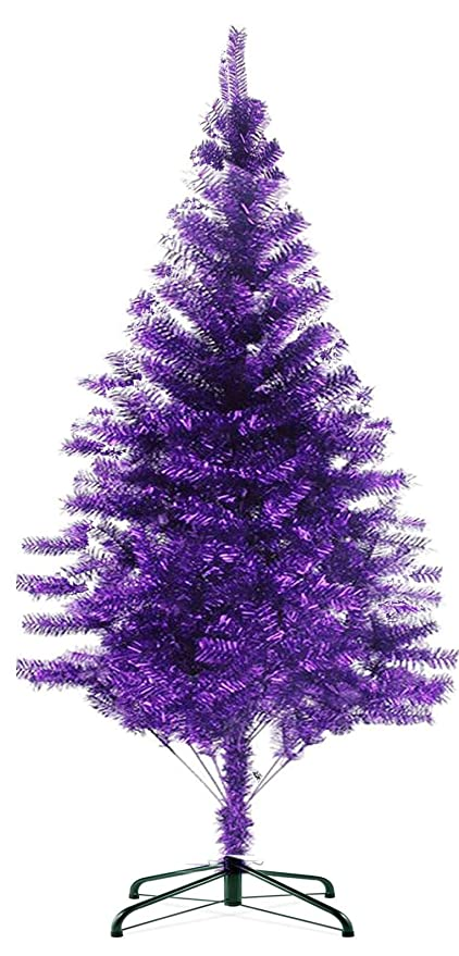 Christmas Purple.Hb 101 7 Ft 720tips Sparking Gorgous Tinsel Chrismas Tree Purple