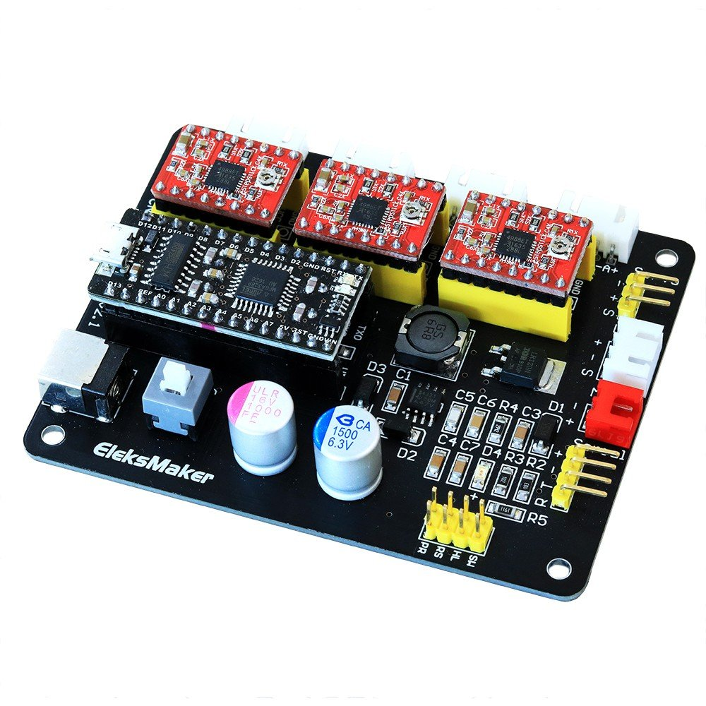hoogles Impresora 3d control board, 3 Axis Stepper Motor ...