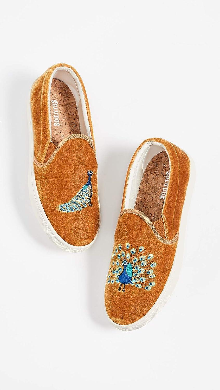 Soludos Women's Velvet Peacock Sneakers