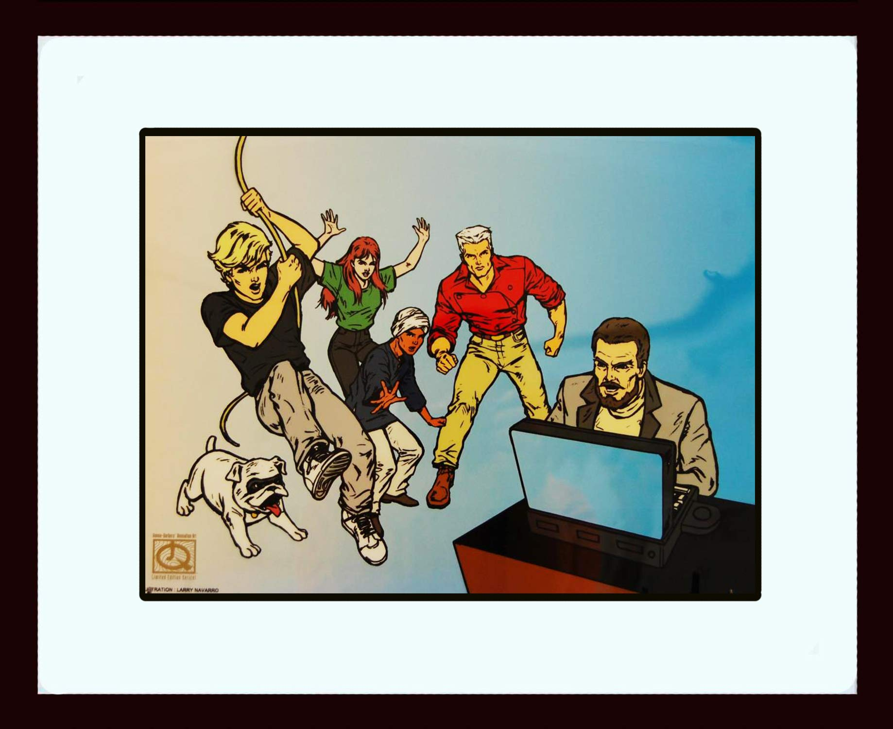 Johnny Quest Animation by