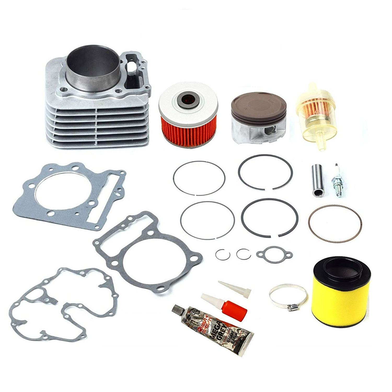 BETTERCLOUD 85MM Cylinder Piston Gasket Top End Kit Fit for Honda Sportrax TRX400EX 1999-2008