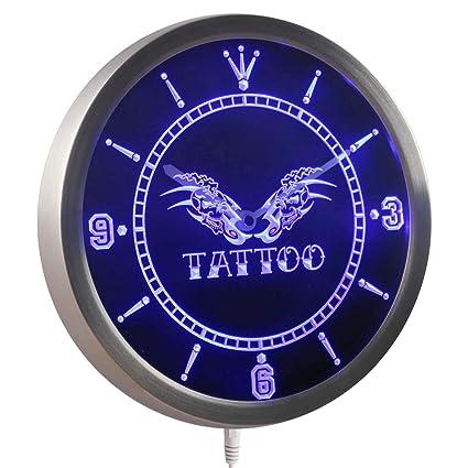 5ff6834e6 Amazon.com: ADVPRO nc0338-b Tattoo Shop Skull Wings Bar Beer Neon ...