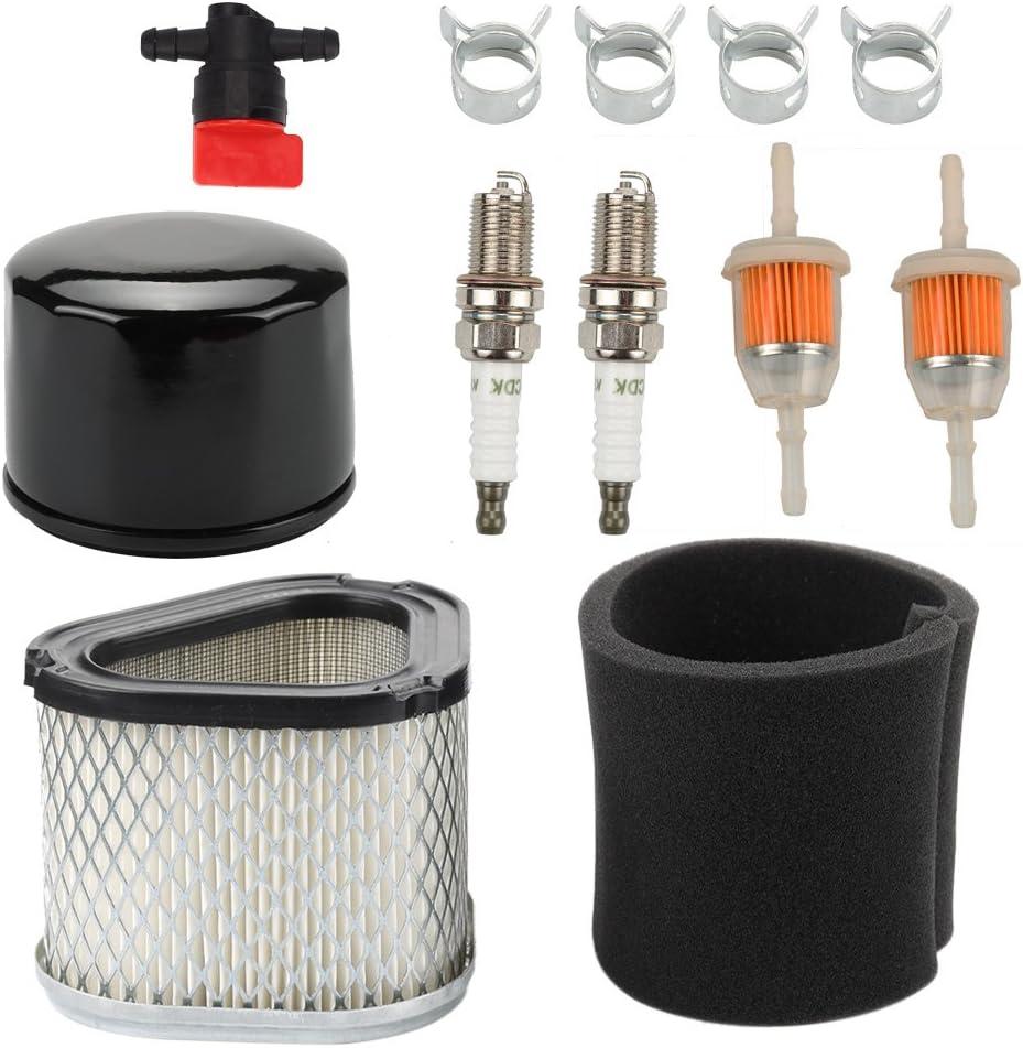 Butom 12 083 10-S Air Filter with Oil Filter Maintence Kit for Kohler Command Pro CV11-CV16 CV460-CV493 Engine John Deere LT150 LT160 LX255 LX266 L110 GS30 Lawn Tractor GY20661 M131303 M145944