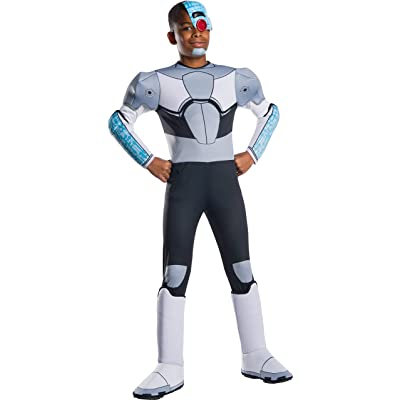Rubie's Costume Co - Teen Titan Go Movie Boys Deluxe Cyborg Costume: Toys & Games