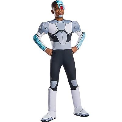 Rubie\'s Costume Co - Teen Titan Go Movie Boys Deluxe Cyborg Costume: Toys & Games [5Bkhe1203012]