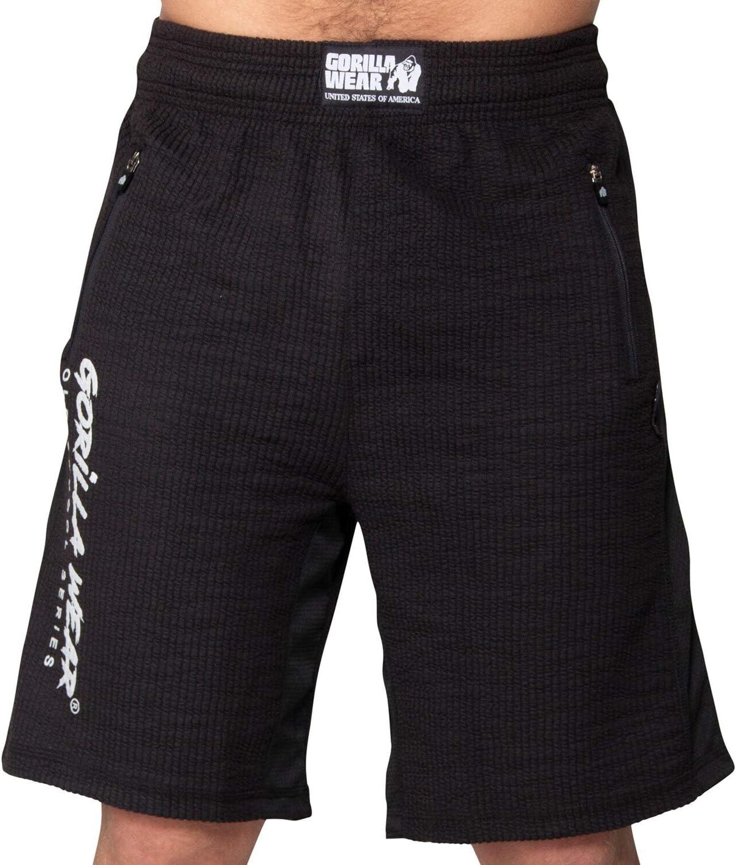 Augustine Old-School Kurze Hose Bodybuilding GORILLA WEAR Sport Shorts Herren