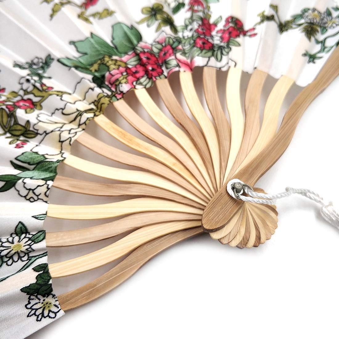 in Seta Piccolo Ventilatore per Donne Portatile Bello Dipinto Sconosciuto Ventaglio da Donna Pieghevole Regalo di Nozze per Borsa in Stile Cinese Giapponese