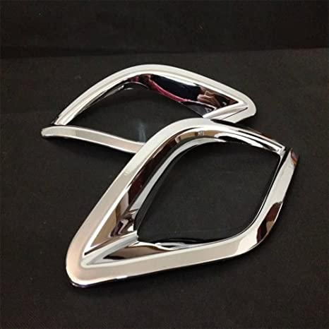 Amazon Aunazznew 2pcs Chrome Rear Fog Light Lamp Frame Cover