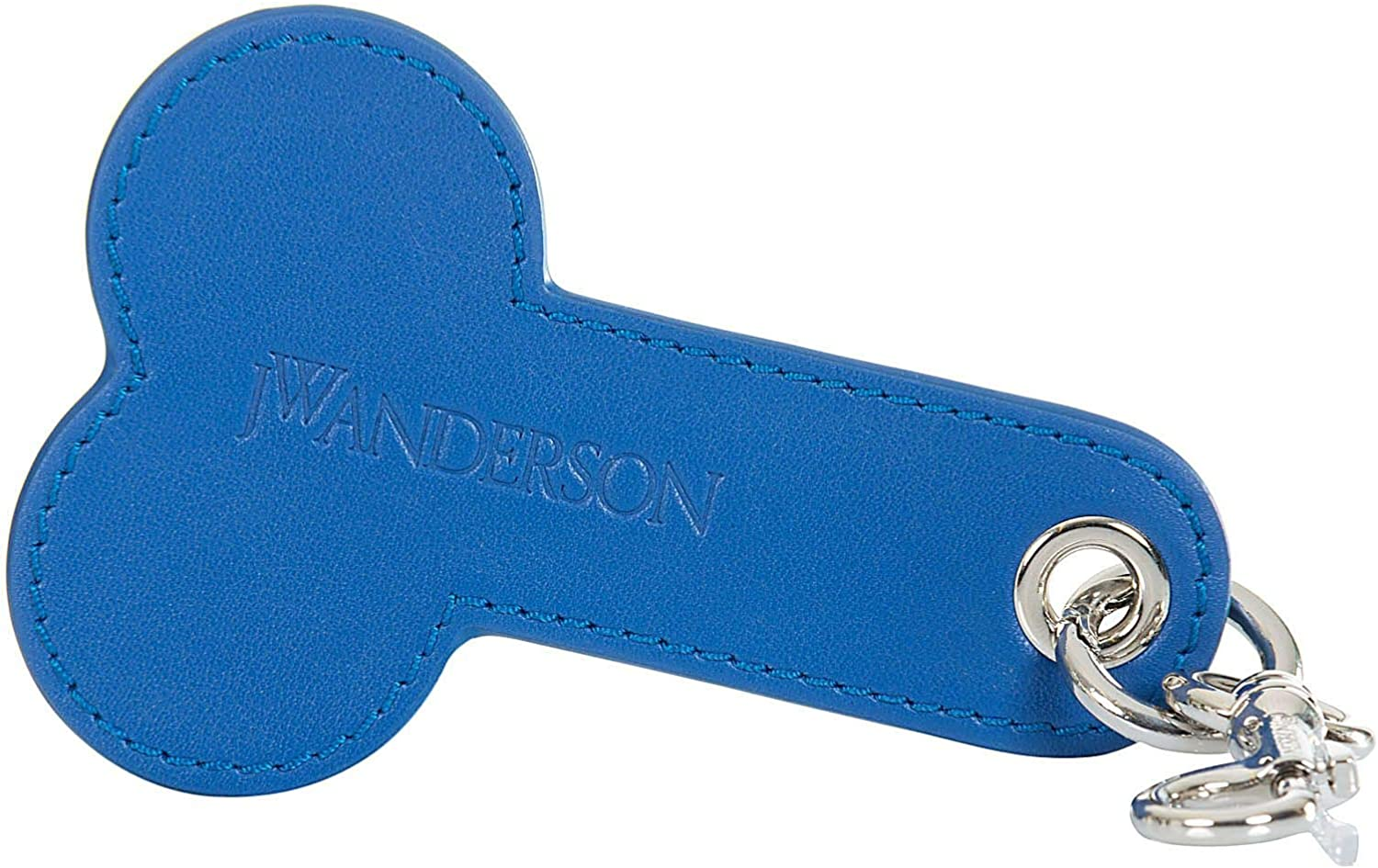 Spring Summer 19 J.W Luxury Fashion Anderson Mens AC00319C471860 Blue Key Chain