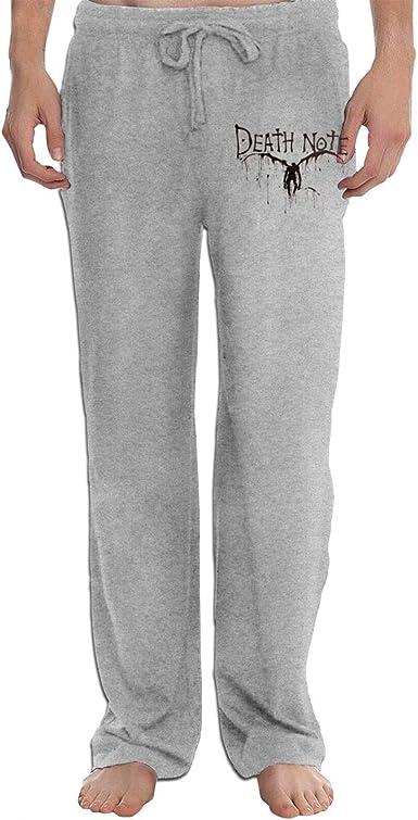 Amazon Com Runxin Ryuk Death Note Pantalones De Moda Para Hombre Color Negro Xl Clothing