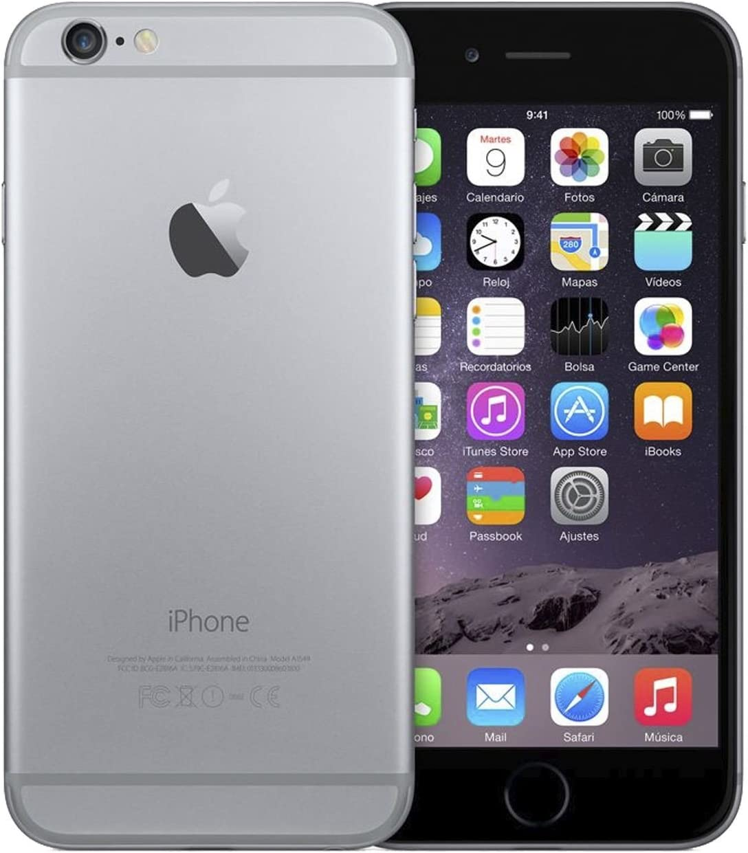 Apple iPhone 6 32Gb Gris Espacial - Mq3d2dl/A: Apple: Amazon.es ...