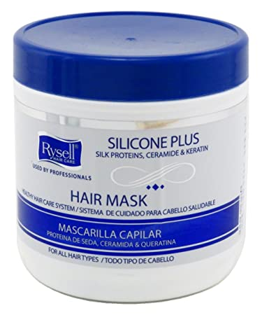 Rysell Hair Mask 16 Ounce Jar (455ml) (6 Pack)
