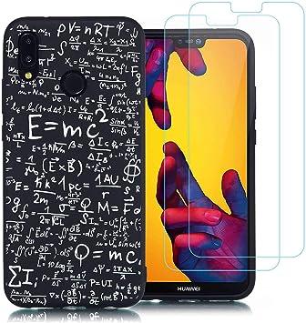 jrester Funda Huawei P20 Lite,Fórmula matemática Suavee Silicona ...