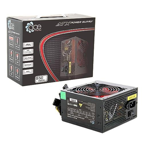 ACE 850 W 12 cm Power Supply Unit - Black