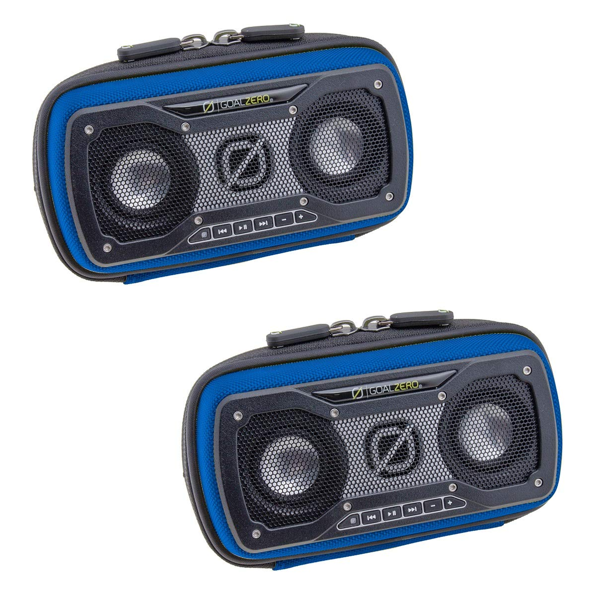 Goal Zero (2 Pack) Portable Speaker, Outdoor Speaker for Phone, iPod, MP3, Travel, Camping, Party with Aux Input, Link Capability and Dark Bass Technology