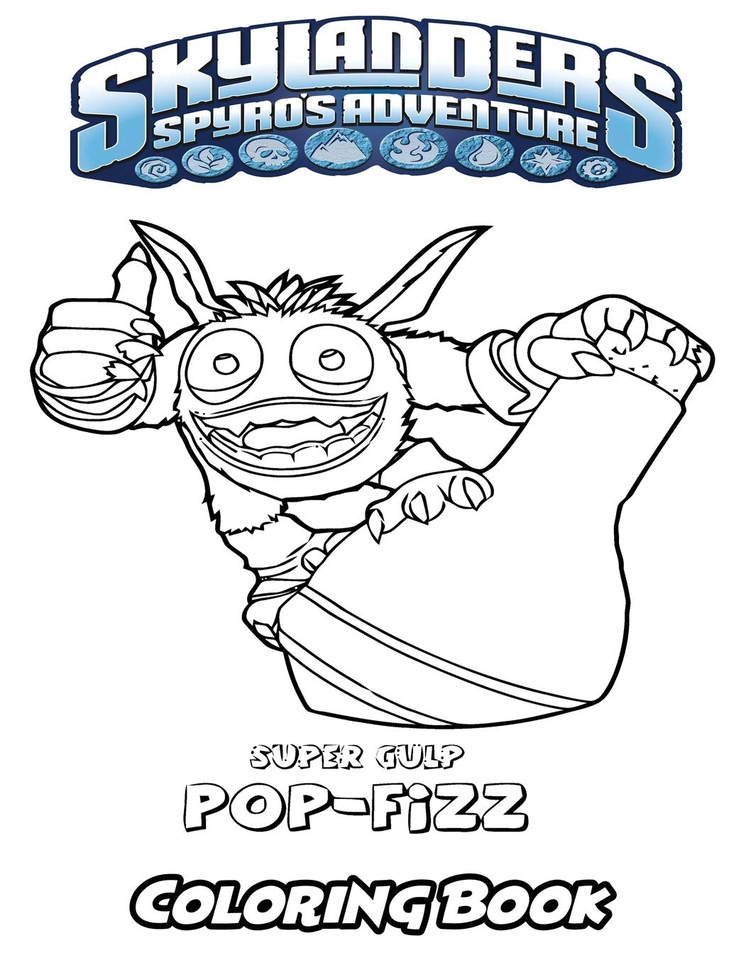 Amazon.com: Skylanders Spyro`s Adventure Coloring Book: Coloring ...